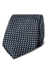 Giorgio Armani 7cm Silk Jacquard Tie