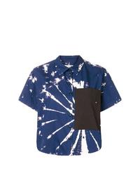 Proenza Schouler Pswl Tie Dye Poplin Shirt