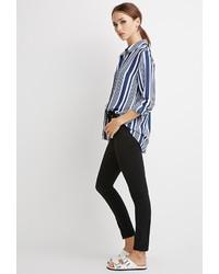 Striped chiffon blouse medium 339274