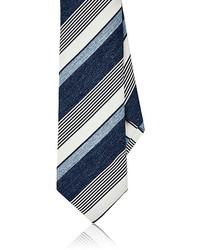 Barneys New York Striped Silk Necktie