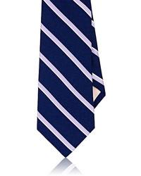 Striped silk necktie medium 3674747