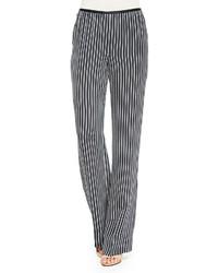 Theory Pajeema Striped Pull On Pants