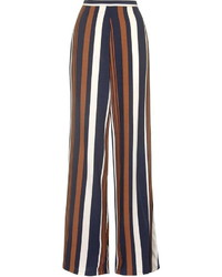 Topshop Petite Stripe Wide Leg Pants