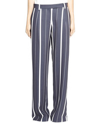 Camilla And Marc Specular Pant In Navy Stripe