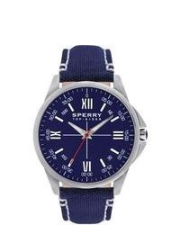 Navy and White Watch