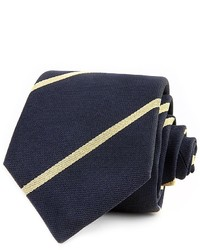 Thomas Pink Club Stripe Skinny Tie