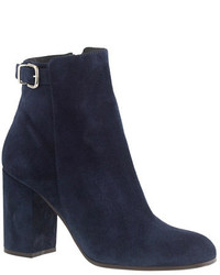 Navy ankle boots original 1624281