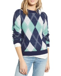Treasure   Bond Offset Argyle Pullover 828ca32d8