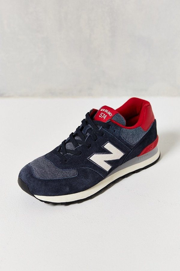 half off e3564 16443 $80, New Balance 574 Pennant Collection Running Sneaker