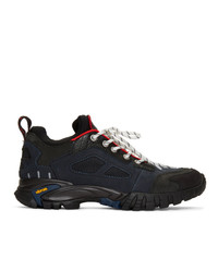 Heron Preston Black And Navy Security Sneakers