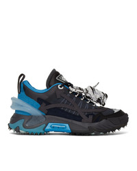 Off-White Blue And Black Odsy 2000 Sneakers