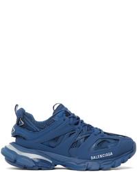 Balenciaga Blue Led Track Sneakers
