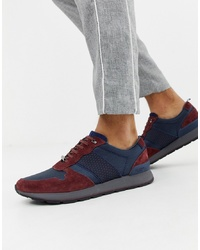 Ted Baker Jaymz Runner Trainers In Navy