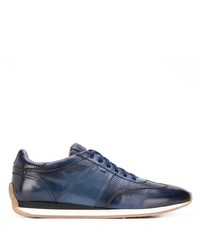 Santoni Low Lace Up Sneakers