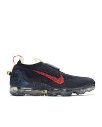 Nike Navy Air Vapormax 2020 Flyknit Sneakers