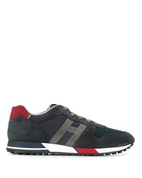 Hogan Panelled Sneakers
