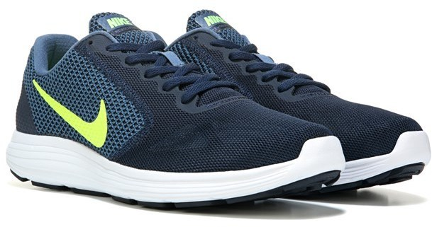 ... Navy Athletic Shoes Nike Revolution 3 Running Shoe ... ef900fde30c6