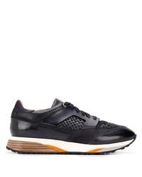 Santoni Woven Panels Sneakers