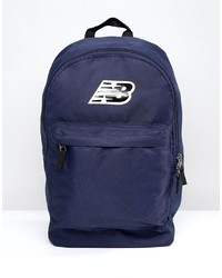 New Balance Classic Backpack In Blue 500210 400