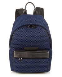 McQ by Alexander McQueen Mcq Alexander Mcqueen Leather Trim Mesh Backpack