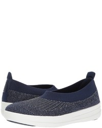 FitFlop Uberknit Slip On Ballerina Lace Up Casual Shoes