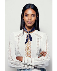 Free People Bandana Bolo Necklace