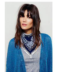 Free People Moonrise Metal Fringe Bandana