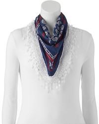 Paisley crochet square scarf medium 3645042
