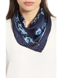 kate spade new york Prairie Rose Silk Bandana