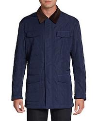 Hickey freeman quilted barn jacket medium 246030