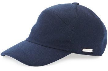 cf5317f6e07 ... Loro Piana Baby Cashmere Storm System Baseball Cap ...