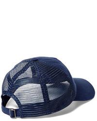827f8765 Polo Ralph Lauren Denim Trucker Hat, $49 | Ralph Lauren | Lookastic.com