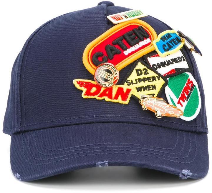 55a966847 Logo Patch Baseball Cap