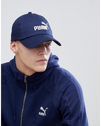 Puma Essentials Cap In Navy 05291918