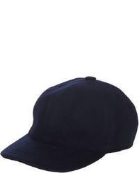 Barneys New York Felted Baseball Cap Blue
