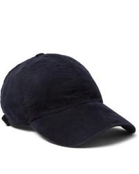 Officine Generale Gart Dyed Cotton Blend Corduroy Baseball Cap