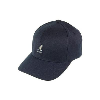 d5463a5d84f ... Kangol Hats Kangol Wool Flexfit Baseball Cap Dark Blue