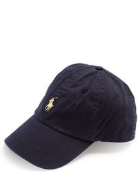 Polo Ralph Lauren Logo Embroidered Cotton Cap