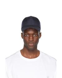 Juun.J Navy Canvas Ball Cap