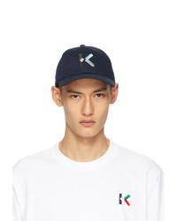 Kenzo Navy Logo Cap
