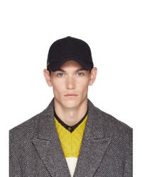 Paul Smith Navy Multistripe Wool Baseball Cap
