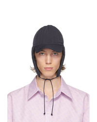 Camiel Fortgens Navy Quilted Padded Cap