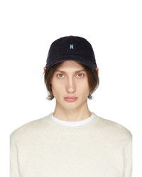Norse Projects Navy Thin Cord Sports Cap