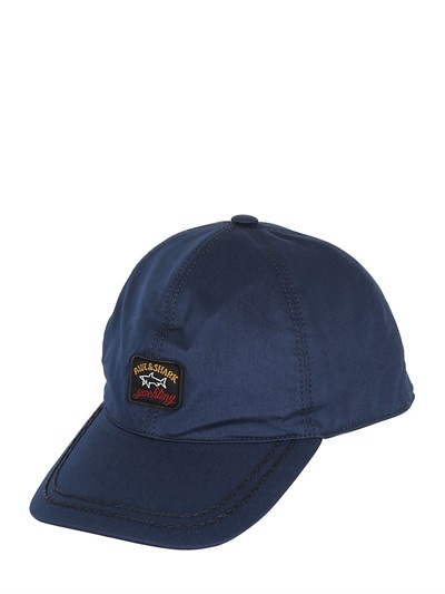 paul shark baseball cap and hat cotton canvas original fin