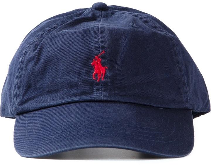 embroidered logo cap - Blue Polo Ralph Lauren xNqap4