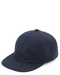 Saks Fifth Avenue Linen Baseball Cap