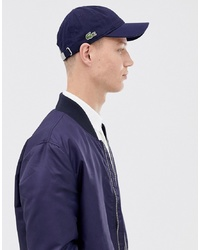 Lacoste Small Logo Baseball Cap In Navy