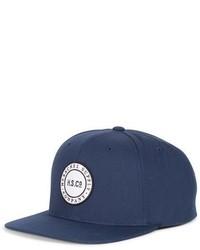 Supply co cam snapback baseball cap black medium 801047