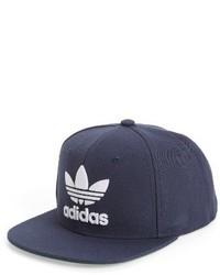 adidas Trefoil Chain Snapback Baseball Cap Blue