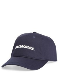 Lacoste Un Crocodile Baseball Cap Blue